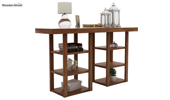 Stanford Console Table (Teak Finish)-1