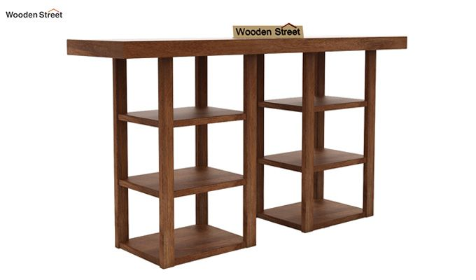 Stanford Console Table (Teak Finish)-3