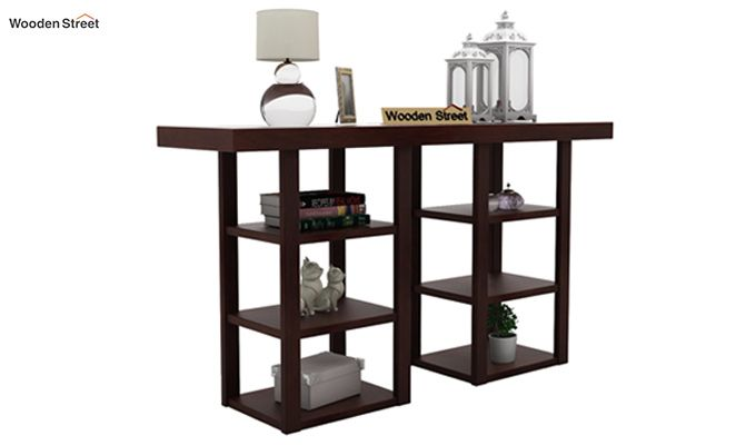Stanford Console Table (Walnut Finish)-2