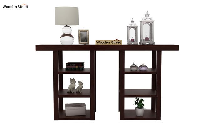 Stanford Console Table (Walnut Finish)-3
