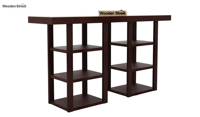 Stanford Console Table (Walnut Finish)-4