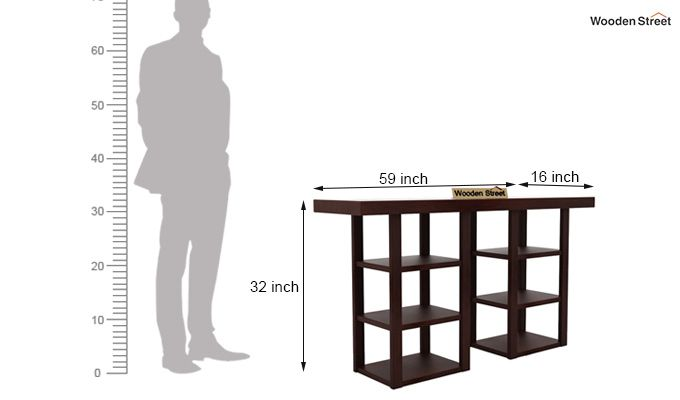 Stanford Console Table (Walnut Finish)-5