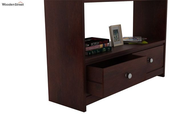 Tulip Console Table (Walnut Finish)-3