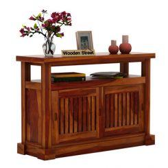 Vettori Console Table (Honey Finish)