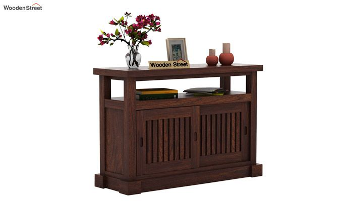Vettori Console Table (Walnut Finish)-1