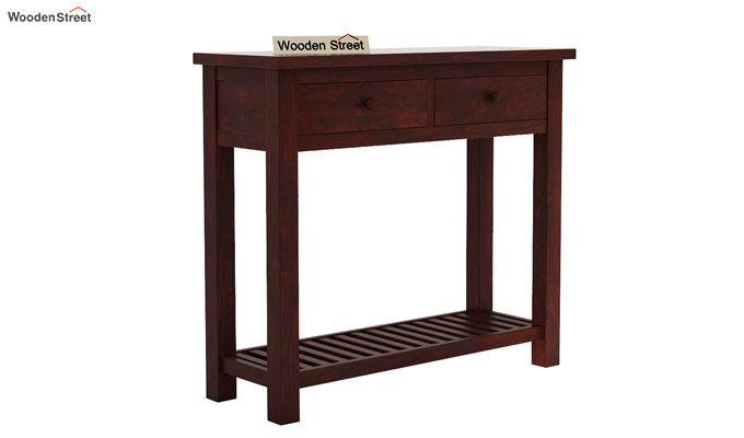 Wales Console Table (Mahogany Finish)-3