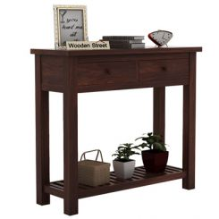Wales Console Table (Walnut Finish)
