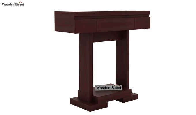 Whitaker Console Table (Mahogany Finish)-4