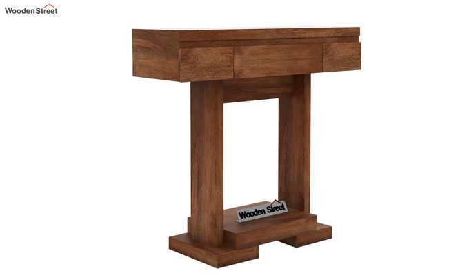 Whitaker Console Table (Teak Finish)-4