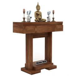 Whitaker Console Table (Teak Finish)
