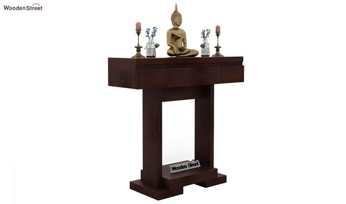 Whitaker Console Table (Walnut Finish)-2