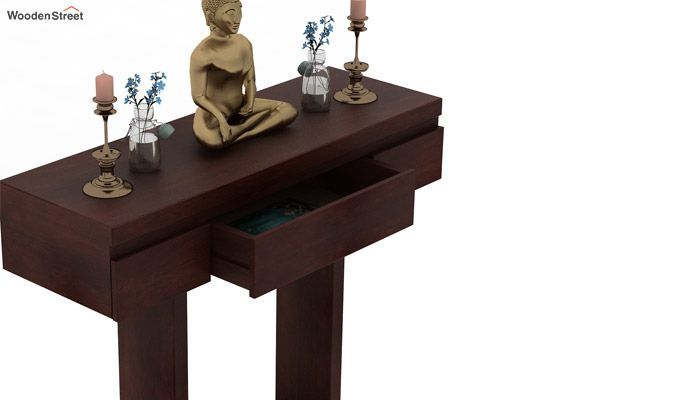 Whitaker Console Table (Walnut Finish)-4