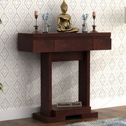 Whitaker Console Table (Walnut Finish)