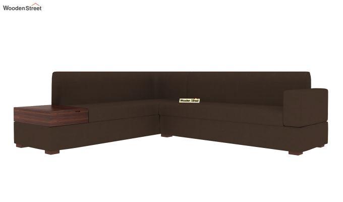 Argos L - Shape Left Aligned Corner Sofa (Classic Brown)-4