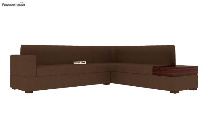 Argos L - Shape Right Aligned Corner Sofa (Classic Brown)-4