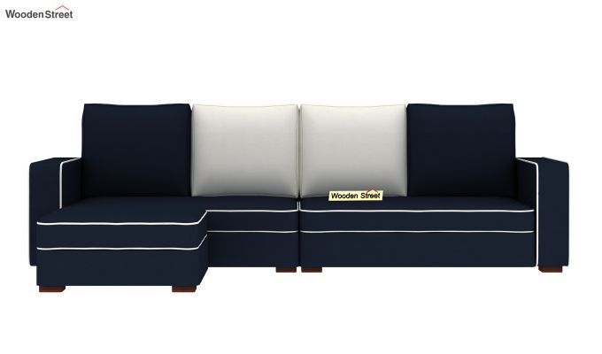 Delos L - Shape Left Arm Corner Sofa (Indigo Ink) (Indigo Ink)-3