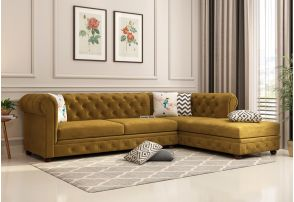 L Shaped Sofa: Buy L Shaped sofa set Online upto 55% Discount