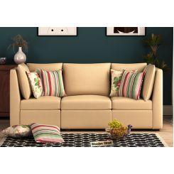 Lawson 3 Seater Sectional Sofa (Irish Cream)