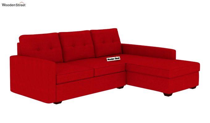 Nicolas L Shape Right Aligned Sofa (Dusky Rose)-2