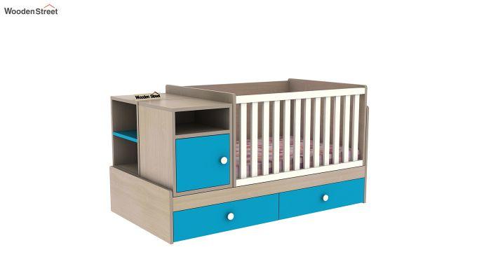 Haven Multi-Functional Crib (Celestial Blue)-4