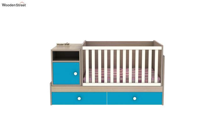 Haven Multi-Functional Crib (Celestial Blue)-5