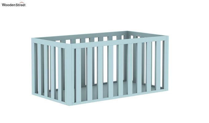 Lunar Crib With Storage Drawer (Dual Color)-6
