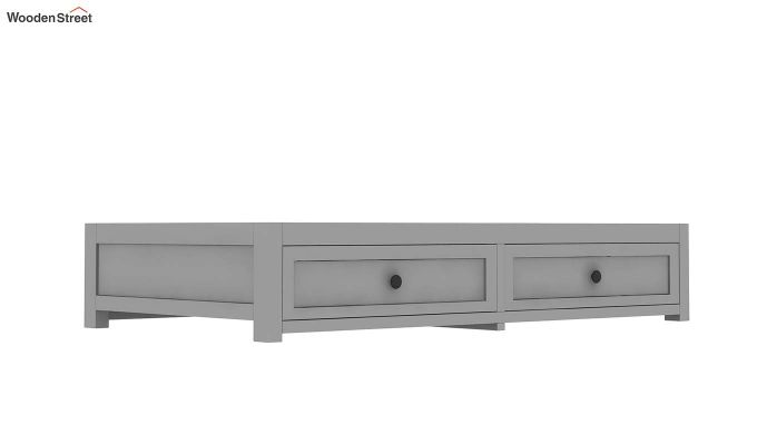 Lunar Crib With Storage Drawer (Grey)-6