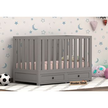 Buy wooden baby cribs, cradle in Bangalore, Jaipur, Mumbai, India