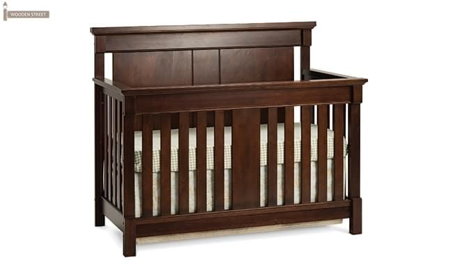 Parson Crib (Mahogany Finish)-1