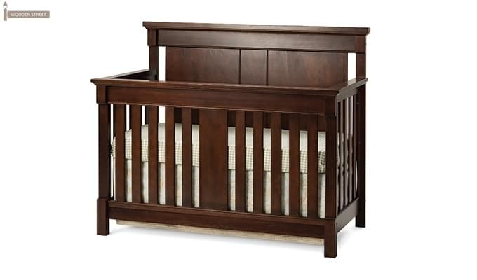 Parson Crib (Mahogany Finish)-2