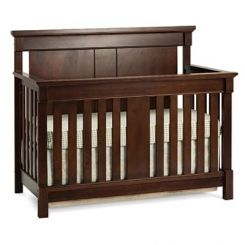 Parson Crib (Mahogany Finish)