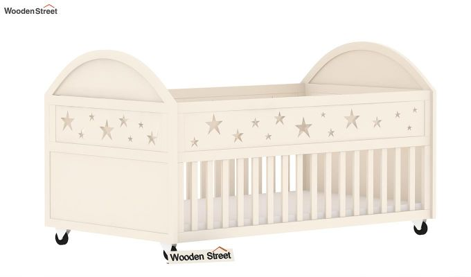 Pristine Crib (White Finish)-2