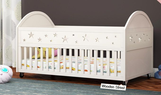 Pristine Crib (White Finish)-1