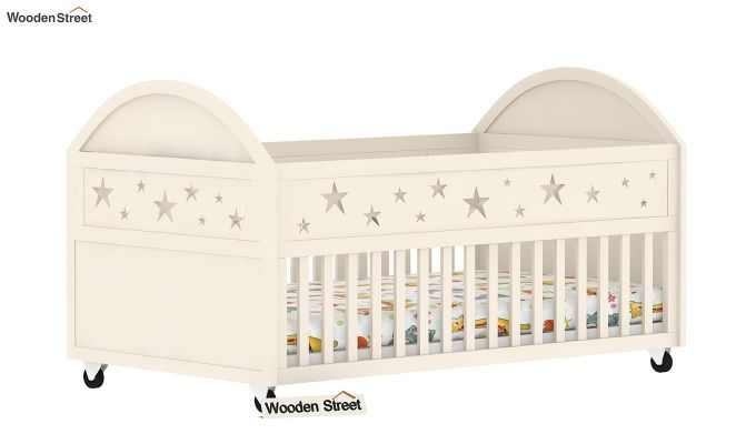 Pristine Crib (White Finish)-4