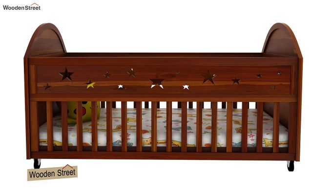 Pristine Crib (Honey Finish)-2