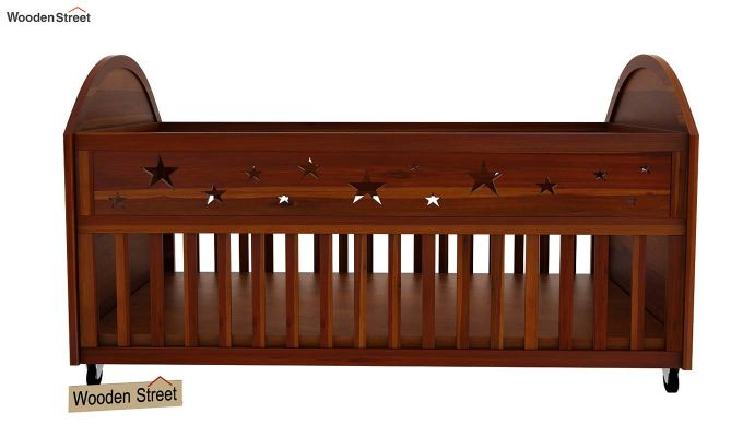 Pristine Crib (Honey Finish)-4