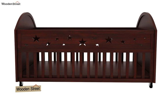 Pristine Crib (Mahogany Finish)-4