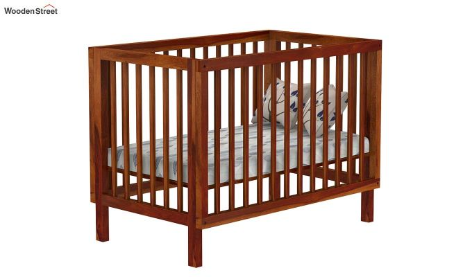 Revo Crib (Honey Finish)-2