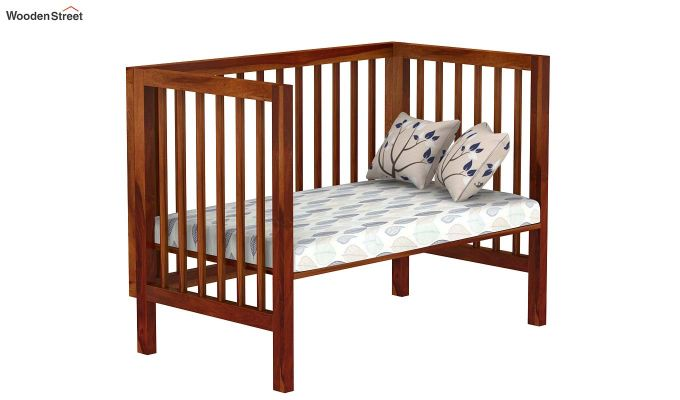 Revo Crib (Honey Finish)-4