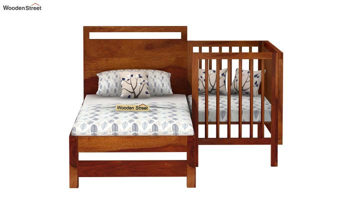 Revo Crib (Honey Finish)-6
