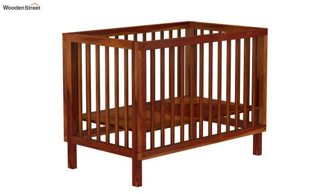 Revo Crib (Honey Finish)-7