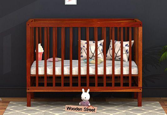 Buy wooden baby cots online in India