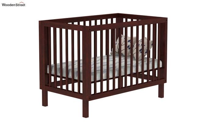 Revo Crib (Mahogany Finish)-2