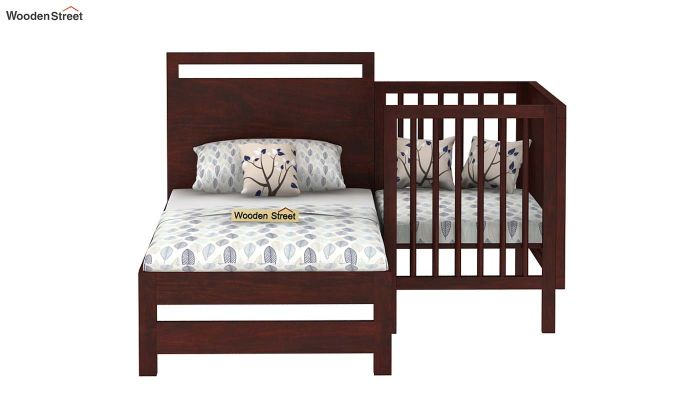 Revo Crib (Mahogany Finish)-6