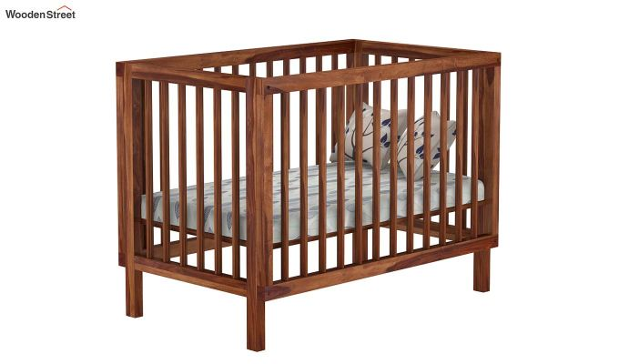 Revo Crib (Teak Finish)-2