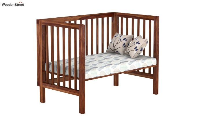 Revo Crib (Teak Finish)-4