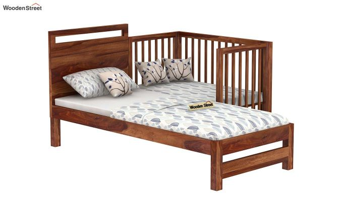 Revo Crib (Teak Finish)-5