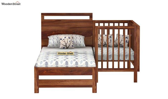 Revo Crib (Teak Finish)-6