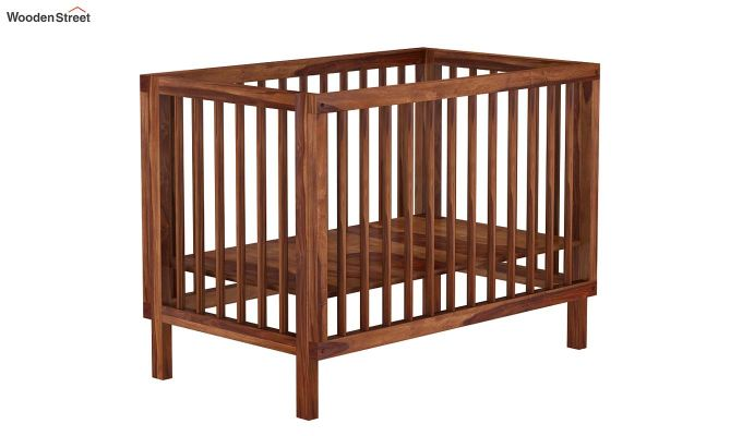 Revo Crib (Teak Finish)-7
