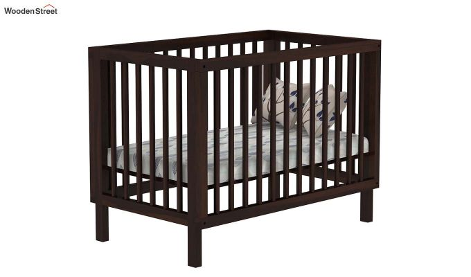 Revo Crib (Walnut Finish)-2